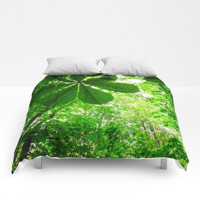 Rainforest Radiance Comforters