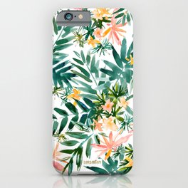 VACAY VIBES Tropical Palm iPhone Case