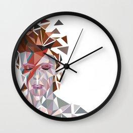 Bowie Stardust Wall Clock