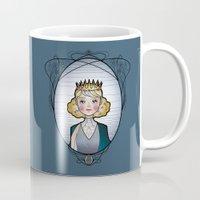 dorothy Mugs featuring Dorothy Gale by Anastasia Sereda