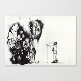 Disconnect Canvas Print