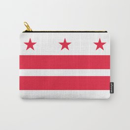 Flag of the District of Columbia - Washington D.C authentic version Carry-All Pouch
