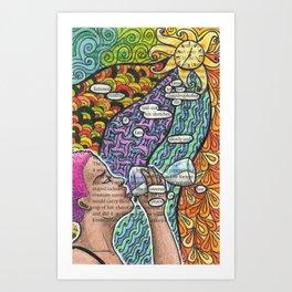 Twenty-six. Art Print