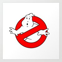 ghostbusters Art Prints featuring ghostbusters by tshirtsz
