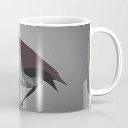 Black Flamingo Coffee Mug