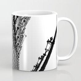 Paris, black and white Coffee Mug