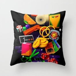 BORN 88 Throw Pillow