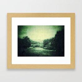 Vintage Landscape  - JUSTART © Framed Art Print