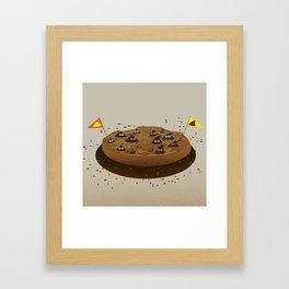 Chocolate Chips War Zone Framed Art Print