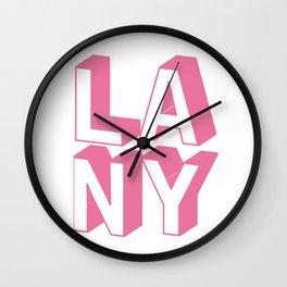LANY Wall Clock