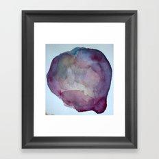 Bruise (Close up) Framed Art Print