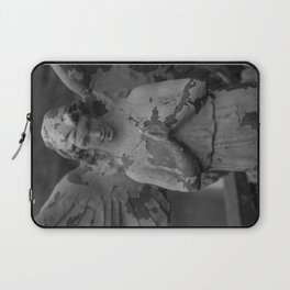 Cemetery Angel Statue Laptop Sleeve