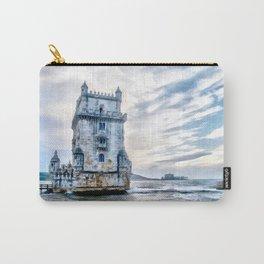Belém Tower, Lisbon (Portugal) Carry-All Pouch