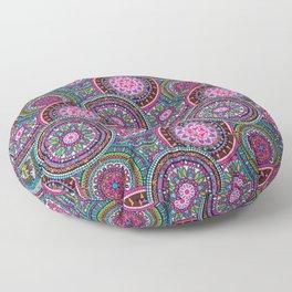 Bright Bohemian Boho Hippy Chic Pattern Floor Pillow