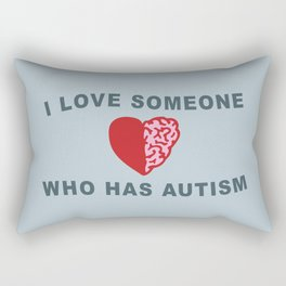 Autism Love Rectangular Pillow