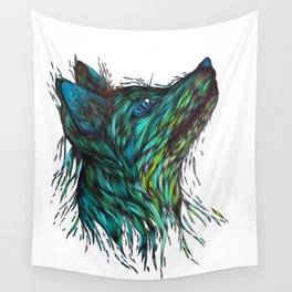 Sea Fox Wall Tapestry