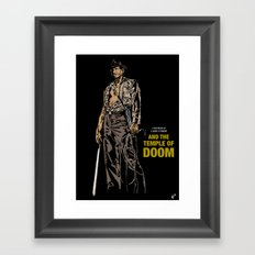 Indiana Jones: And the Temple of Doom Framed Art Print