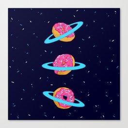 Sugar rings of Saturn Canvas Print