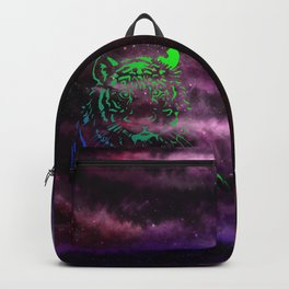 Neon Space Tigers Backpack