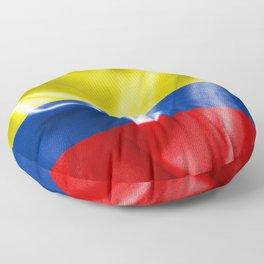 Colombian Flag Floor Pillow