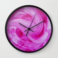 wedding Wall Clocks featuring Wedding  by CC Studio