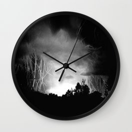 Coming Out Of The Darkness Wall Clock