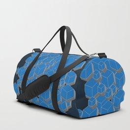 3D Futuristic Cubes IV Duffle Bag