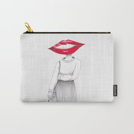 Lip Head Carry-All Pouch