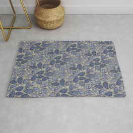 Blue Mussels Rug