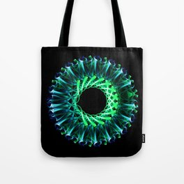 Smoke Mandala Tote Bag