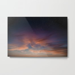 Clouds and Stars, No 1, Provincetown Metal Print