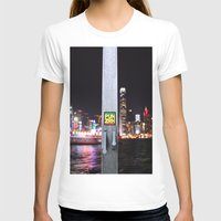 hong kong T-shirts featuring Hong Kong  by Chernyshova Daryna