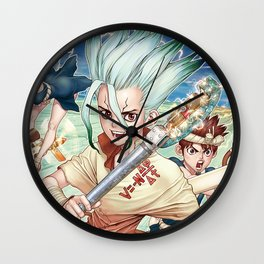 Dr. Stone Poster Wall Clock