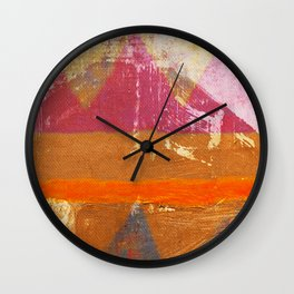 Popocatepetl Wall Clock