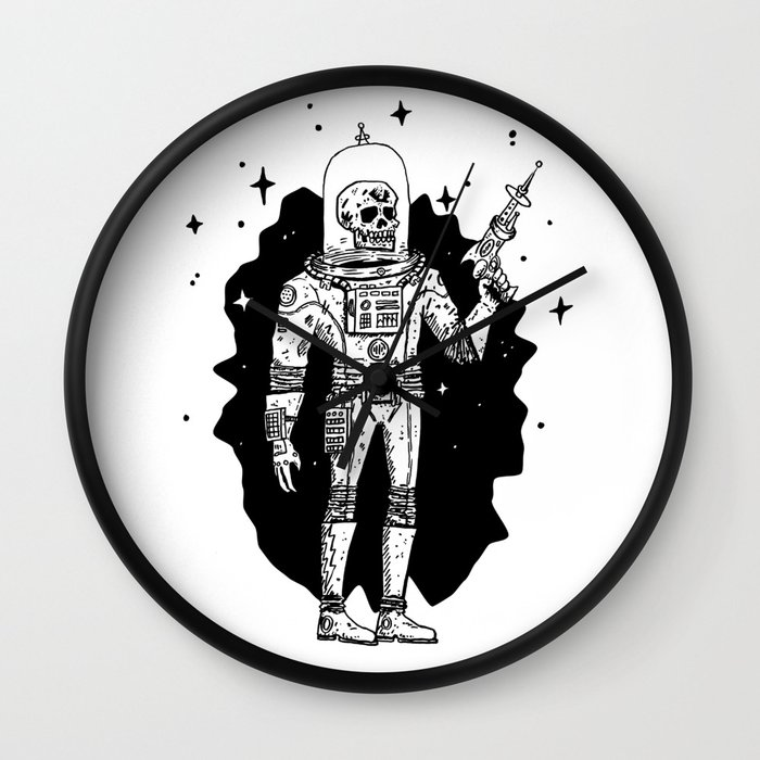 Intergalactic Bone Man Wall Clock