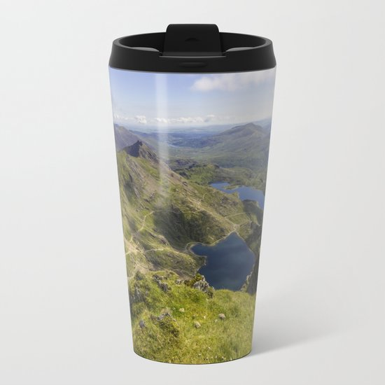 Snowdon Summit Metal Travel Mug