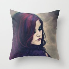 Corrine King Illustration Throw Pillow