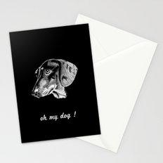 oh my dog ! Stationery Cards