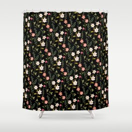 Botanical Study Shower Curtain