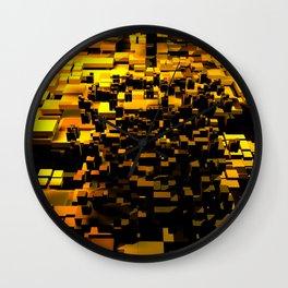 golden living Wall Clock