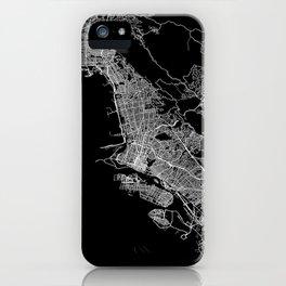 oakland map california iPhone Case