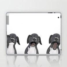 Yawning Dog Laptop & iPad Skin