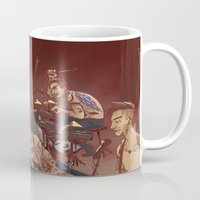 concert Mugs featuring concert by cargdoodles