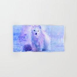 Arctic iceland fox Hand & Bath Towel