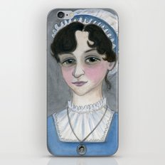 Jane Austen and Her Lost Heart iPhone & iPod Skin