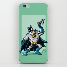 Another Strong man in a super hero costume iPhone Skin