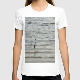 Contemplating the horizon T-shirt