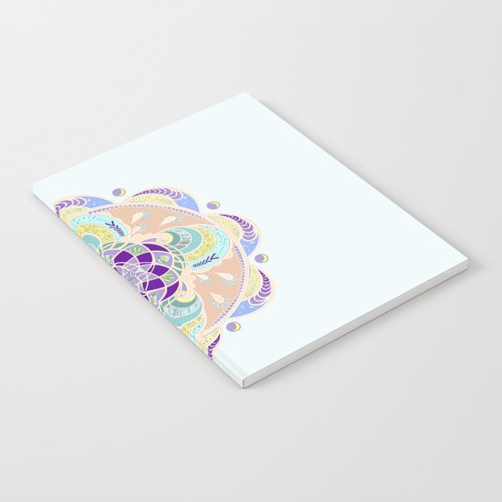 Daisy Lotus Meditation Notebook