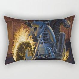 Firebiker Rectangular Pillow