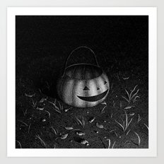 Drawlloween 2015: Pumpkin Art Print